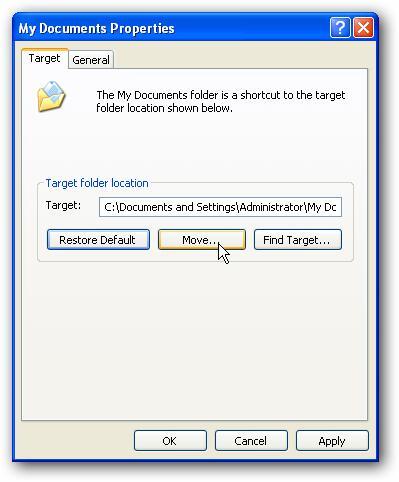 Xp mode on windows 7 szandras23 for Move my documents xp