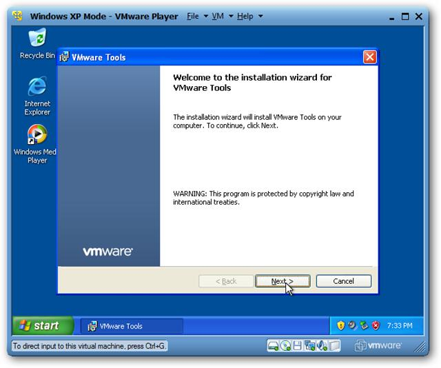 cannot activate windows xp virtual machine