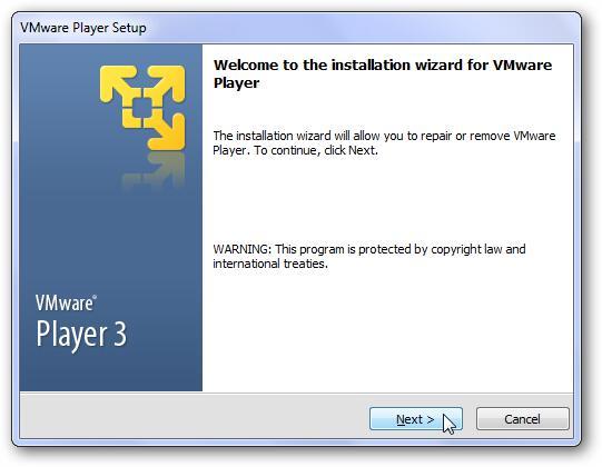 Vmware player 6. 0. 1 build 1379776 download for windows / filehorse. Com.
