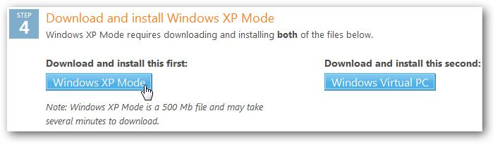 Run XP Mode on Windows 7 Machines Using VMware
