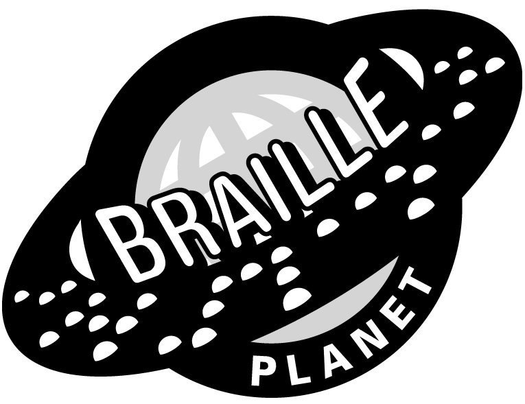 logo for Braille Planet